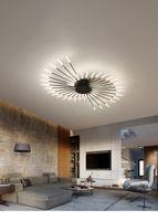 2021 Havai Fişek LED Avizeler Lambalar Oturma Odası Yatak Odası Ev Avize Modern Tavan Kolye Lamba Aydınlatma