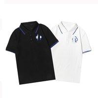2021Fashion Mulheres Homens Camisas Verão Manga Curta T Camiseta Última Plana Respirável Fitness Tee Projeto Custom Costume Embroid CottonBlack e White Wascings-XXXL96