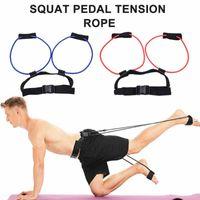 Resistance Bands Fitness Booty Bounce Trainer Elastic Pull Rope Squat Adjust Waist Belt Leg Strength Agility Training