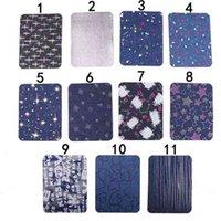 20p-8 en stock Denim genou Coude de fer sur patchs Star brodé Cousez sur patch pour les enfants et les vêtements pour adultes peuvent conception client