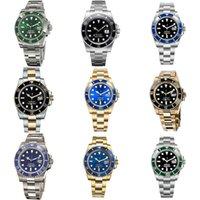 Mechanische horloge 3135 3235 mannen horloges automatische lichtgevende mannen 40mm keramische bezel chronograaf sport roestvrij staal riem saffier spiegel waterdicht