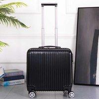 Bavullar Çocuk Seyahat Bagaj 18 '' Kabin Bavul Tekerlekler Arabası Çanta Taşıma Gezinmek için Haddeleme Bagaj Trolly Seyahat Moda