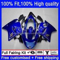 Honda Blackbird CBR 1100xx 1100 XX 96-07 35NO.4 CBR1100XX 공장 블루 96 97 98 99 00 01 CBR1100 XX 2002 2003 2004 2005 2006 2007 OEM Bodys