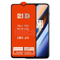 21D Full Glue Screen Protector Tempered Glass Explosion Curved Guard Film Cover Shield For INFINIX Note 10 Pro HOT Play ZERO 8 8i X657 X683 X687 X690 SMART 5