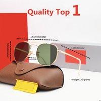 Lunettes de soleil pour hommes et femmes Cadre conduite lunettes de soleil 100% UV blocage de la qualité Top 1