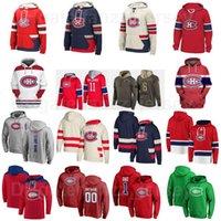 Pullover Montreal Canadiens Hockey Hoody Jackets 24 Phillip Danault Hooded 26 Jeff Petry Hoodies 17 Josh Anderson Sweatshirts Joel Armia Red Black