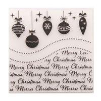 Craft Tools Scrapbook Рождественские украшения DIY резки умирают скрапбукинг пластичная тиснение папка для почтовой бумаги