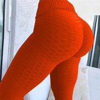 뜨거운 판매 Tiktok Scrunch Booty 레깅스 피트니스 운동 여성 요가 바지 탄성 Jaquard Dropper Plus 크기 검은 피트니스에 대 한 레깅스