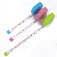 150 سنتيمتر الخياطة الشريط قياس قابل للسحب حاكم المحمولة الجسم قياس أشرطة التسوق أدوات قياس أدوات الحيابة DWE5827