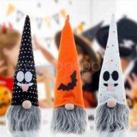 Festiwal Ornament Wisiorek Ghost Party Decoration Cartoon Halloween Pleciona Karłówka Doll Z świateł Luminous Glow W Dark