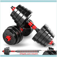 Equipments Supplies & Outdoorsgym Professional Fitness Business Sports To Send Thickened Foam Decompression Connector Nut Dumbbell Bar Pair