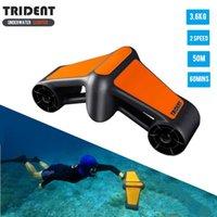 Аксессуары для бассейна 2021 Trident Водонепроницаемый Электрический Подводный Скутер Водяное море Двухскоростное Спортивное Спорт Спортивное оборудование