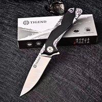 OEM Tigend Bıçakları EDC Aracı Sınırlı Sayıda Cobra High-end Blade D2 Çelik G10 Kolu Katlanabilir Bıçak Kamp Cebi Survival Avcılık Mutfak