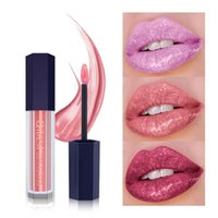 Shimmer Lip Tint Glitter Gloss Long-lasting Non-stick Cup Waterproof Brighten Color Maquillaje*1