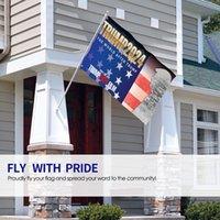 Nuovo stile di arrivo Donald Trump per il presidente 2024 flag 90x150cm GWA8907