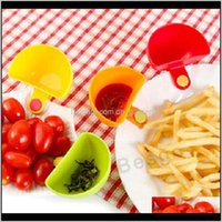 Other Kitchen Dining Bar S For Assorted Salad Sauce Ketchup Jam Flavor Sugar Spices Dip Clip Cup Bowl Saucer Accessories Gadge 5Bjpx