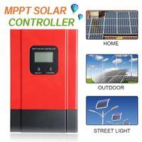 60A LCD MPPT Контроллер солнечного заряда 12V / 24V / 36V / 48V Регулятор батареи на солнечной панели MAX 150 В постоянного тока вход