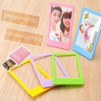 Frames And Mouldings Caiul 5 Pcs Mini Po Frame For Fujifilm Instax 9 8 25 50s 90 Film Paper 3 Inch Picture Pvc Material