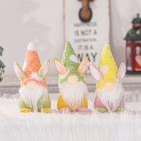 Easter Bunny Gnomes Plüsch, Ostern Gnome Gesichtslose Elf Puppe Handgemachte Kaninchen Ostern Geschenke für Kinder