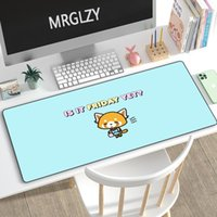 Mouse Pads & Wrist Rests MRGLZY XXL Large Pad Cute Raccoon Multi-size Gaming Peripheral MousePad Keyboard Mat Computer Accessories DeskMat