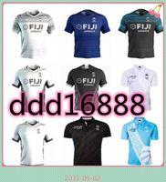 2021 2022 Fiji Home Away Rugby Jersey Sevens Camisa Olímpica Tailândia Qualidade 20 21 National 7's