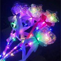 2021 Balão Princesa Light -up Magic Ball Wand Glow Stick Wizard Wizard Fairy Levou Bobo Crianças 's brinquedos por atacado