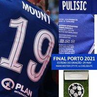 American College Football Wear Final Porto 2021 Havertz Kante Mount Giroud Jogador Worn Player Problema com MatchDetails