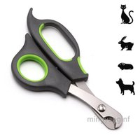 Professional Pet Nail Clippers Trimmer Scissors for Small Breeds, Puppies, Rabbits, and More, Safe Sharp Stainless Steel Blades CC0580