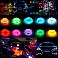 Lampe de décoration de voiture Cold Light Strip Modification intérieure avec bande de pince latérale LED + boîte de batterie Lumières interiorexternelles