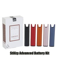 Stiiizy Advanced Delivery System Premium Vaporizer Starter Kit 210mAh Rechargeable Battery Vape Pen Wit USB Cable For Thick Oil Pod