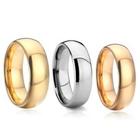 Cluster Rings LOVE Alliances 100% True Men's Tungsten Carbide Ring 4 6 8MM Anniversary Marriage Couple Wedding For Men And Women