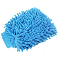 car care Sponge Double-sided Washing Cleaning wash wiper cloth Wiping Rags Super single-sided encrypted thick gloves Household Tools