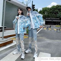 Pareja usa moda marca chaqueta hombres hombres otoño clase uniforme conjunto universitario estilo ocio hong kong estilo estudiante deportes abrigo