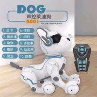 Jinxingda Simülasyon Hayvan Akıllı Elektrikli Robot Uzaktan Kumanda Ledi Köpek Çocuk Oyuncak Elektronik Şarj Pet