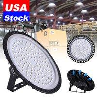 Luzida alta da baía do LED 50w 100W 200W 300W 500W AC110V / 220V 6500K Luzes brancas de inundação de UFO apropriados para a iluminação em armazéns, garagens, oficinas de fábrica, supermercados
