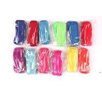 16 ألوان مضاد للتجميد المصاصات أكياس أدوات الفريزر الجليدية القطب المصاصة حاملي reusable النيوبرين العزل الجليد البوب الأكمام حقيبة NHD6452