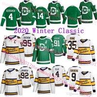 Nashville Predator 2020 Inverny Classic Jersey Dallas Stars 95 Duchene 35 Rinne 9 Forsberg 14 Benn 91 Tyler Seguin 4 Ellis Hockey Jersey