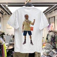 Travis Travis Scott T shirts Tee-shirt à manches courtes à manches courtes de haute qualité pour hommes et femmes