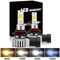 Car Headlight 16000LM 110W H4 LED H7 Canbus H1 H3 H8 H11 9005 9006 9007 880 3000K 6000K Car Auto Headlamp Led Lights For Car