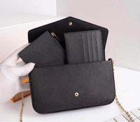 2021 Clutch MONTAIGNE Handbags Leather Women Shoulder Bags Messenger Crossbody Bag Purse Fashion Designer Luxurys Hangbag