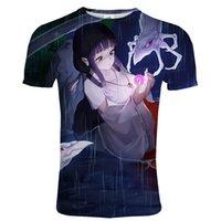 2021 Anime T-Shirt Inuyasha 3D Baskılı Streetwear Hip Hop T Gömlek Erkekler Kadınlar Spor Rahat O-Boyun Kısa Kollu Tişört Unisex