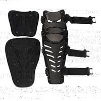 Motorcycle Armor Knee Pads Motocross Protector Guard Moto Protective Gear Motorbike Ridng Black Red -40