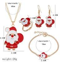 Earrings & Necklace Cute Ring Women Gifts Bracelet Girls Set Jewelry Christmas Xmas