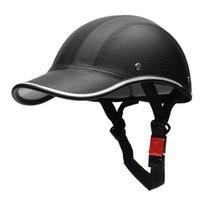 Motorcycle Helmets 2021 Half Helmet Baseball Cap Face Anti-UV Safety Hard Hat
