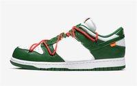 Release Authentic Futura Dunk Pino Bianco Pino Verde Scarpe Università Rosso Low Shoelaces Uomini Donne Sport Sport Snow Sneakers Sneakers Off