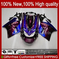 Lichaam voor Kawasaki Ninja ZX-11 R ZZR-1100 ZX-11R ZX11R 90 91 92 93 94 95 30HC.134 Paars Blauw ZZR 1100 CC ZX 11 R 11R ZX11 R ZZR1100 1996 1997 1998 1999 2000 2001 Fairing Kit