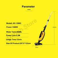 In 1 Multi-Functional Steam Cleaner Mop Cleaning Machine Table Sofa Hand-Held Garment Steamer Vacuum Cleaners