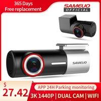 SAMEUO U700 Dash Cam Front and Rear Camera QHD 1944P Car DVR with 2 cam dashcam WiFi Video Recorder 24H Parking Monitor