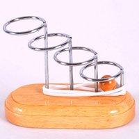 KONG MINGSUO ألعاب تعليمية خشبية حل تفكير مكاني حل حبل الخيوط غير المنكول خطوة من قبل الماوس المذهل سلم الدائري