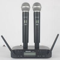 Mikrofon Kablosuz G-Mark GLXD4 Profesyonel Sistemi UHF Dinamik Mic Otomatik Frekans 80m Parti Sahne Ana Bilgisayar Kilisesi Mikrofonlar